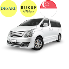 RETURN - SINGAPORE <=>  DESARU / KUKUP